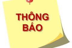 Thông báo kiểm tra, đối soát danh sách dự kiếm công nhận kết quả điểm rèn luyện, học bổng khuyến khích học tập HK1 năm học 2020 - 2021 và danh sách dự kiến miễn giảm học phí trợ cấp xã hội